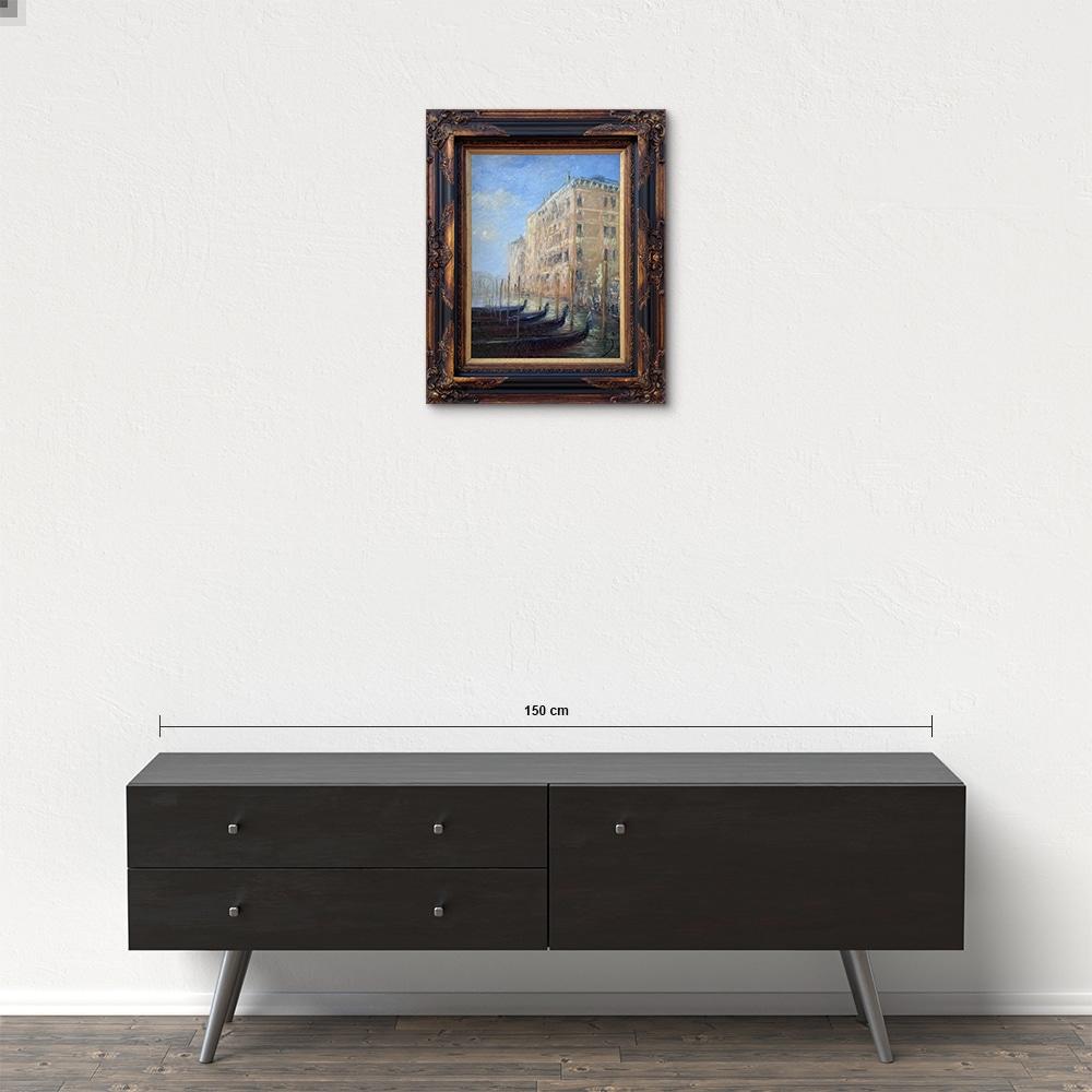 Názov: Gondoly / Rozmery: 40x30 cm / Rok: 2021 / Technika: Olejomaľba