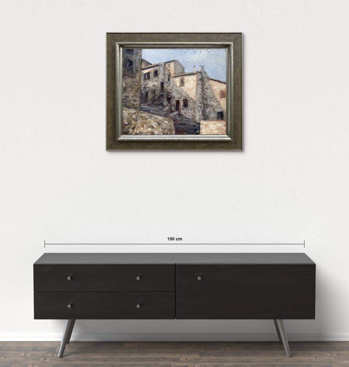 Názov: Alviano / Rozmery: 50x60 cm / Rok: 2007 / Technika: Olejomaľba