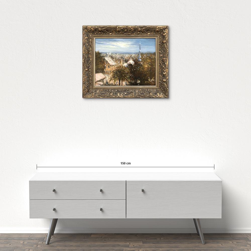 Názov: Güell park Barcelona / Rozmery: 40x50 cm / Rok: 2015 / Technika: Olejomaľba