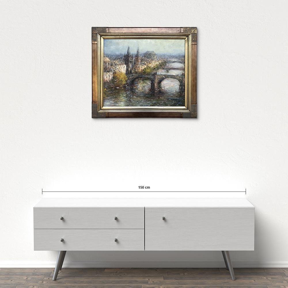Názov: Praha / Rozmery: 50x60 cm / Rok: 2016 / Technika: Olejomaľba