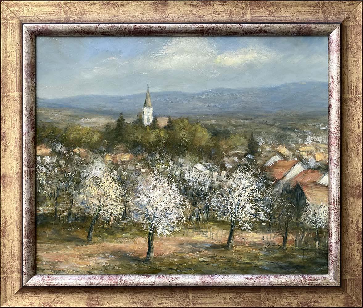 Názov: Radošina / Rozmery: 50x60 cm / Rok: 2017 / Technika: Olejomaľba