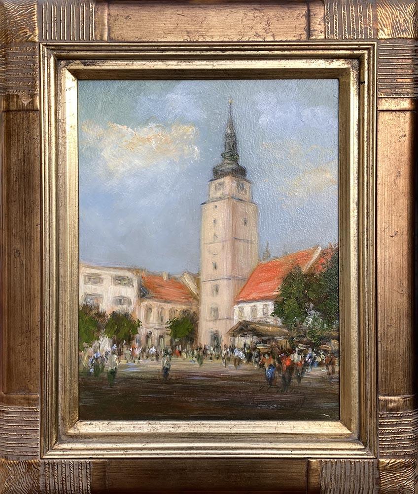 Názov: Trnava / Rozmery: 40x30 cm / Rok: 2017 / Technika: Olejomaľba